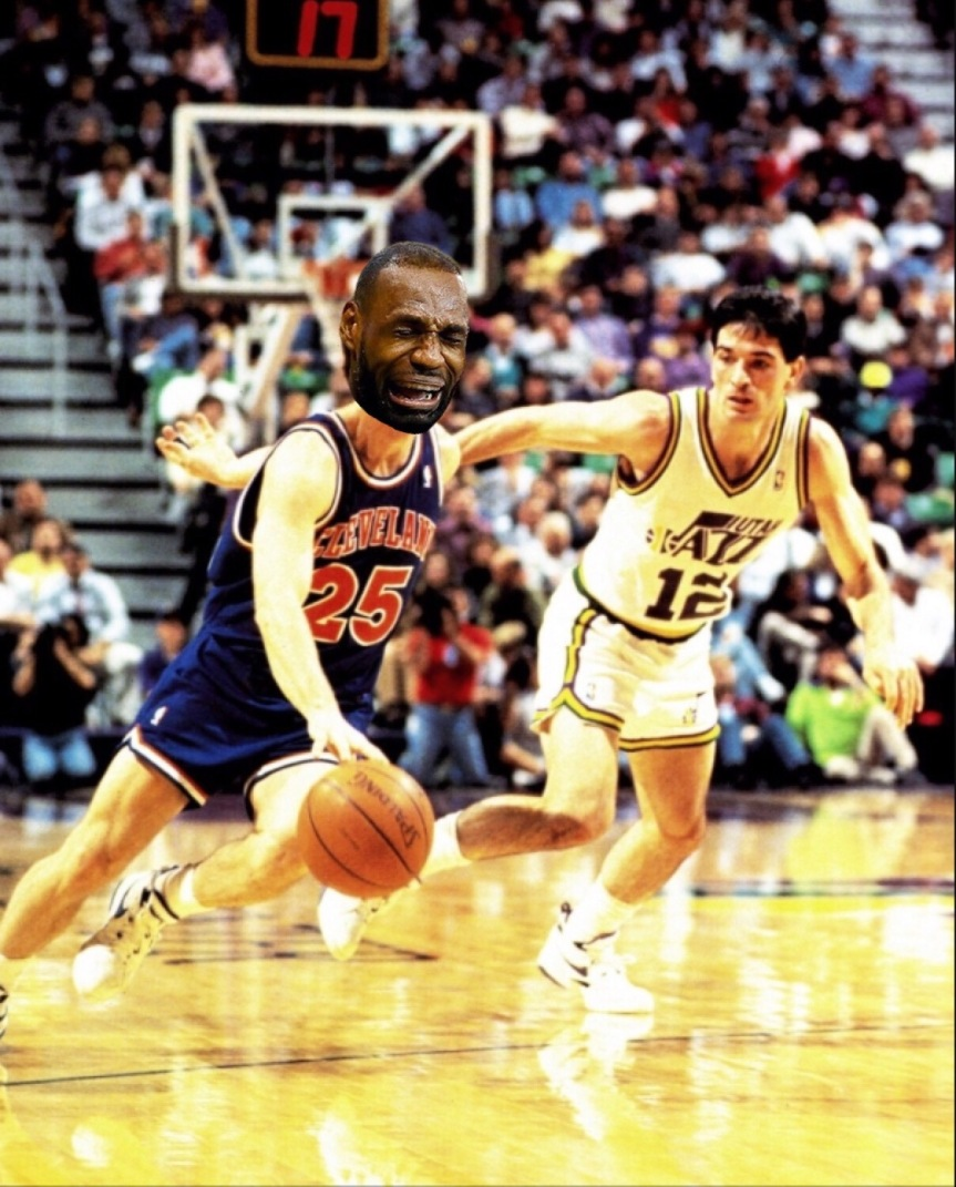 1997 Jazz vs Lebron's Cavs
