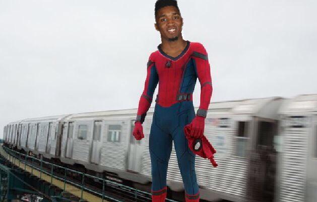 Superhero Spider Mitchell