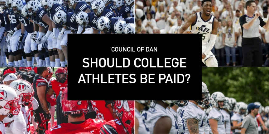 The Council of Dan: to pay or not to pay CollegeAthletes