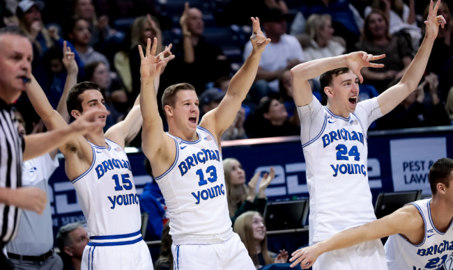 BYU Splashes from DeepEnd