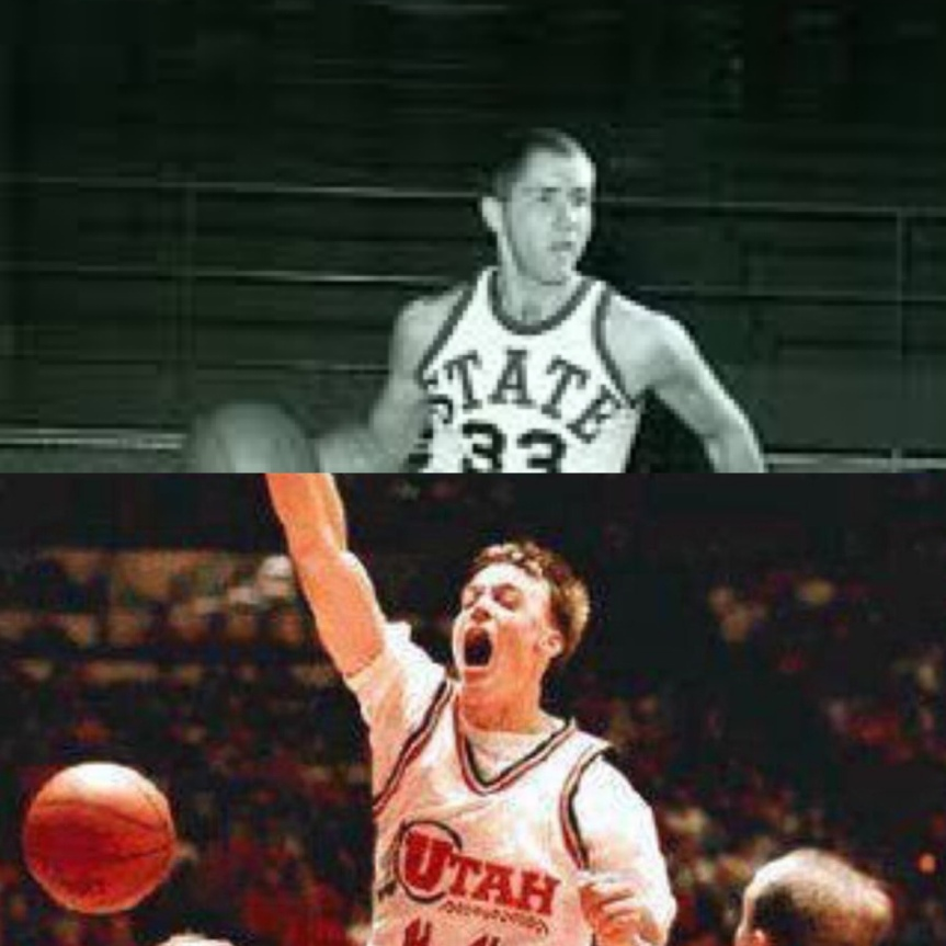 Utah March Madness 7 Wayne Estes vs 10 Keith Van Horn