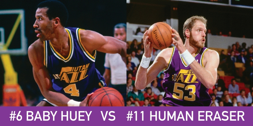 Utah March Madness: 6 Baby Huey vs 11 Human Eraser