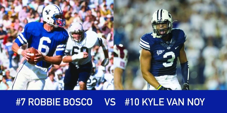 Utah March Madness: 7 Robbie Bosco vs 10 Kyle VanNoy
