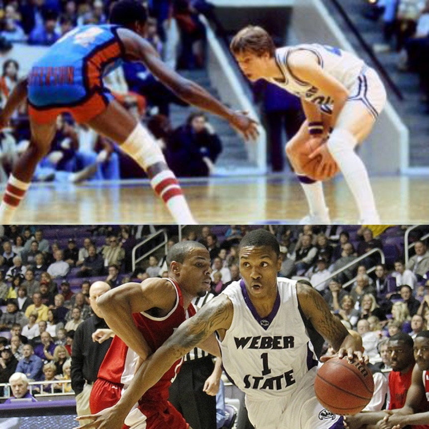 Utah March Madness 5 Danny Ainge vs 12 Damian Lillard