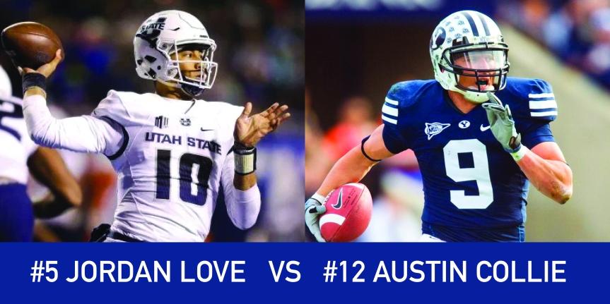 Utah March Madness: 5 Jordan Love vs 12 AustinCollie