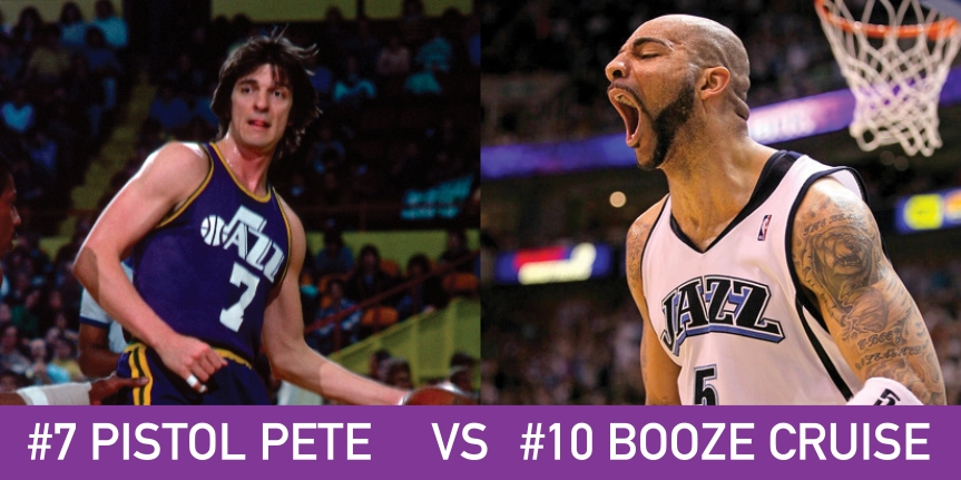 Utah March Madness: 7 Pistol Pete vs 10 Booze Cruise