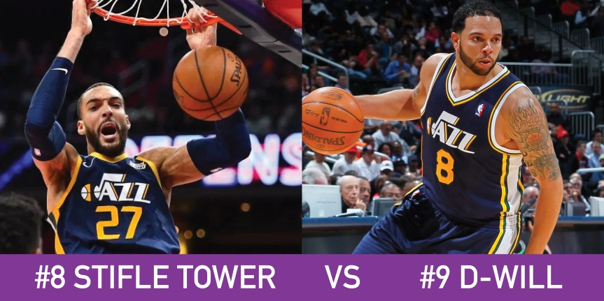 Utah March Madness 8 Stifle Tower vs 9 D-Will