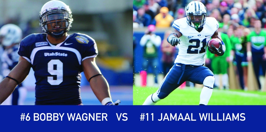 Utah March Madness: 6 Bobby Wagner vs 11 Jamaal Williams