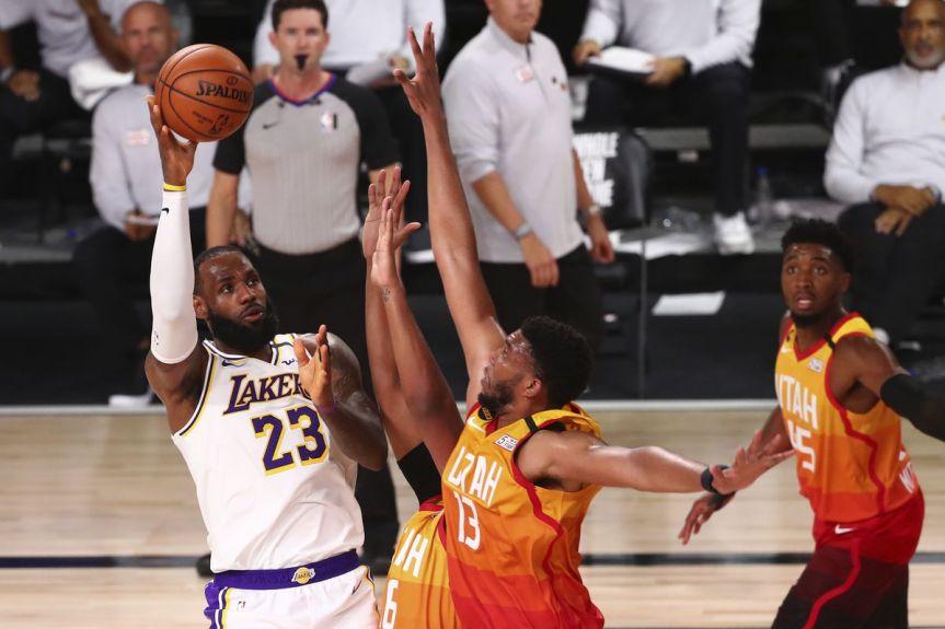 Jazz Recap: The Lakers beat the Great SaltLake